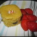 Mini-cakes bananes et chocolat (multidélices) et bloganniversaire