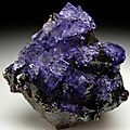 Fluorite. elmwood mine, carthage, tennessee