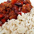 Chili con carne simply