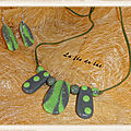 Collier vert 1