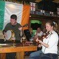 Concert de musique irlandaise au pub