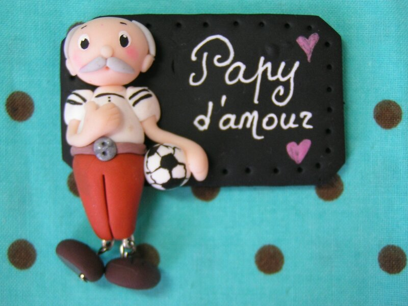 badge super papy