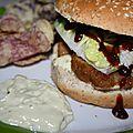 Idée repas : burger au faux poulet