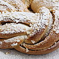 La brioche dite Kringle (ou kringel) estonnien ... 