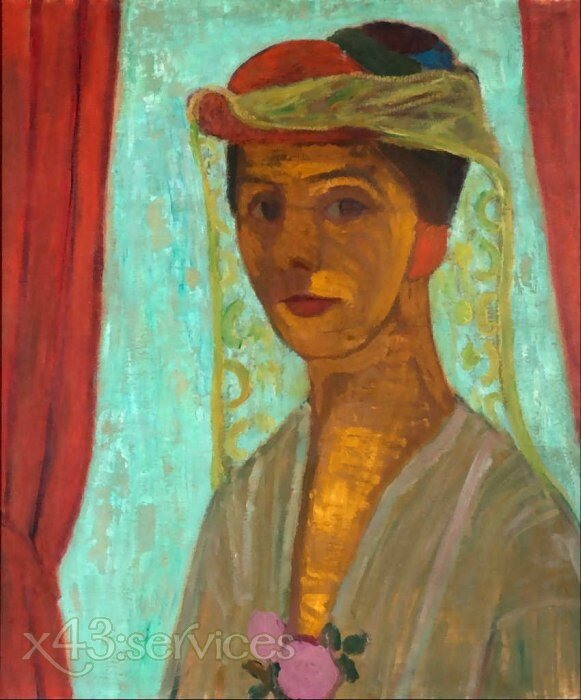 Paula-Modersohn-Becker-Self-portrait-with-hat-and-veil