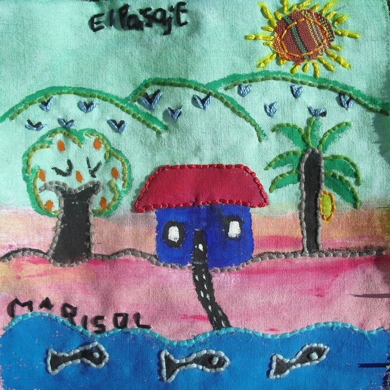 05 Peinture+broderie+collage Maricruz Rabinal Guatemala