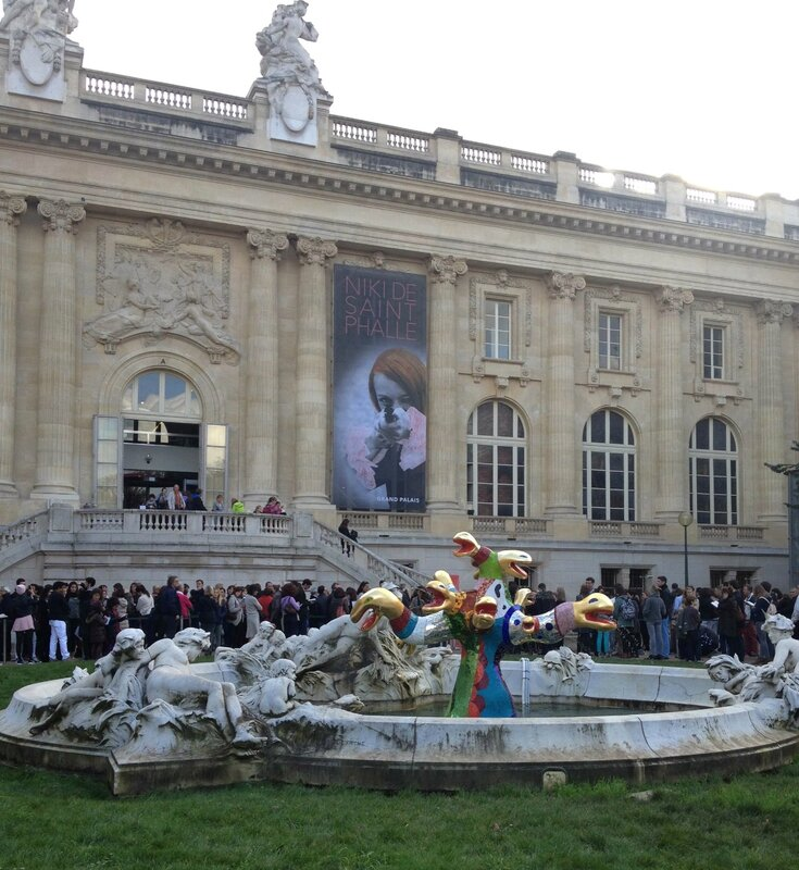 Nicki de Saint Phalle-Grand Palais-Affiche-Paris