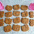Biscuits diététiques hyperprotéinés multicéréales saveur érable avec sukrin (sans sucre ni beurre ni oeufs)