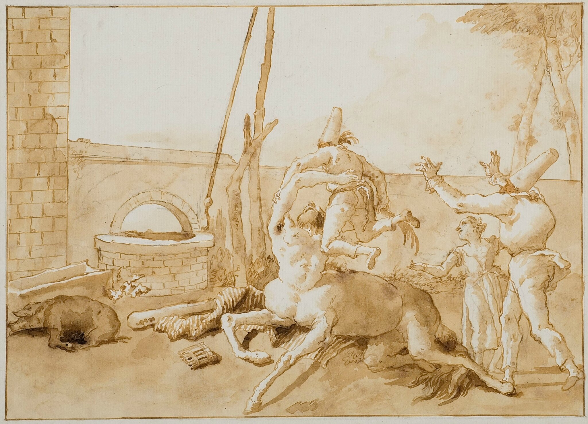 Crocker Art Museum shows drawings by exceptional 18th-century Venetian masters Giambattista and Domenico Tiepolo