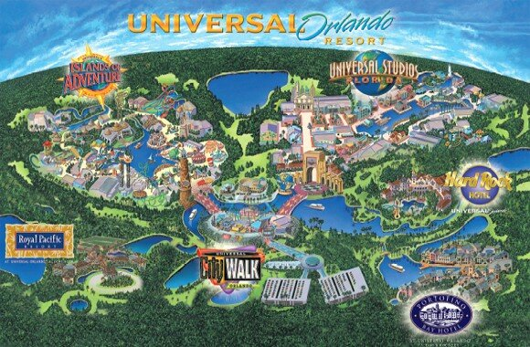 parc attraction universal