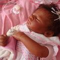 petite fille africaine reborn
