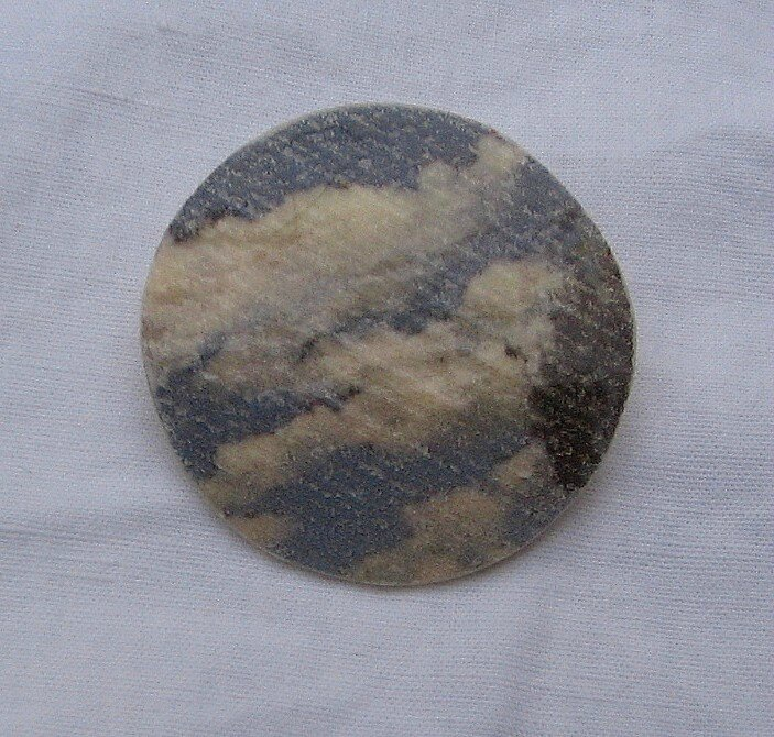 broche ronde nuages