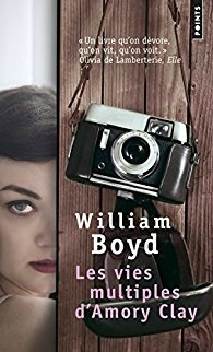 Les vies multiples d'Amory Clay, William Boyd