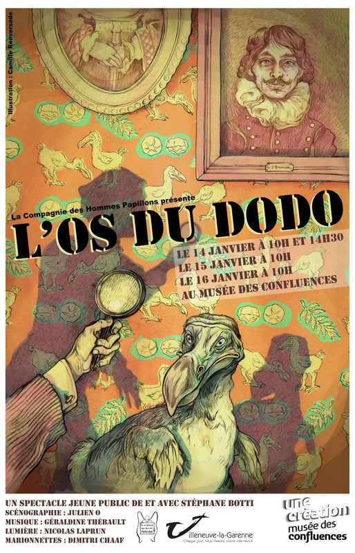 affiche os du dodo light