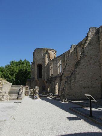le château de la Trou d'Aigues