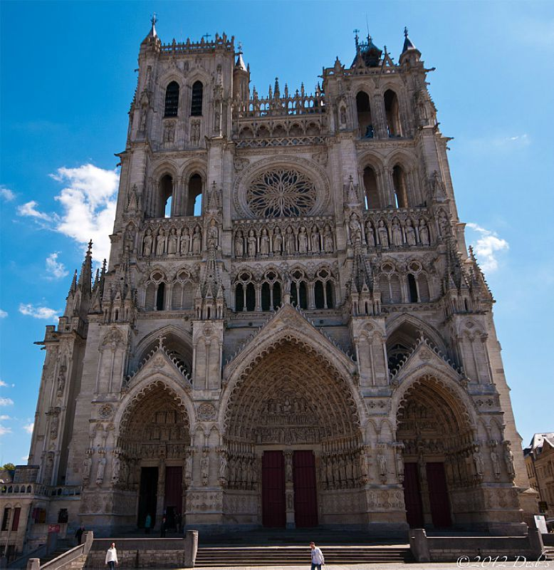 Amiens mes photos - Une cathedrale gothique ...