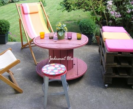 c t terrasse salon de jardin r cup 39 photo de d co brocante r cup 39 jardinement v tre. Black Bedroom Furniture Sets. Home Design Ideas