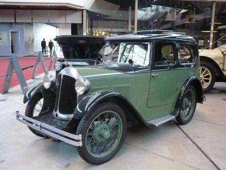 AUSTIN Seven Swallow 1931 Bruxelles Autoworld (1)