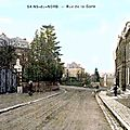 SAINS DU NORD-Rue de la Gare