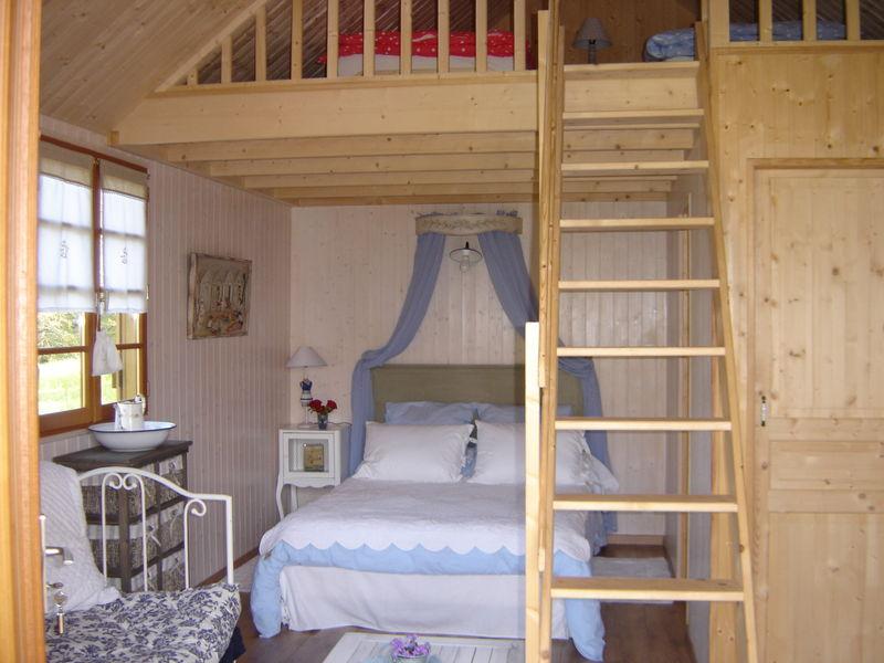 int rieur chalet beaurivage photo de les chambres d. Black Bedroom Furniture Sets. Home Design Ideas