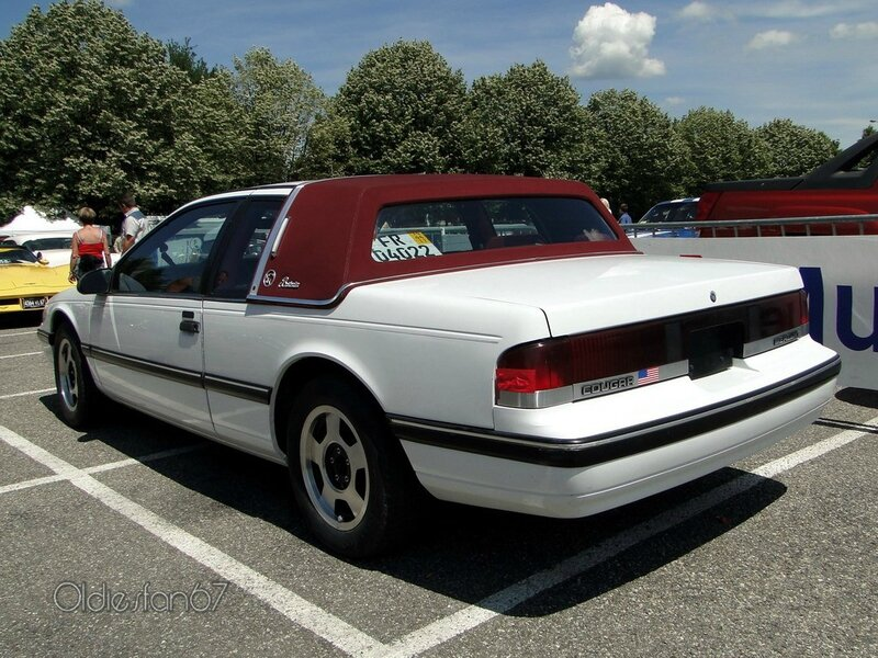 mercury cougar bostonian 1990 b
