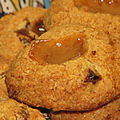 Cookies  la banane, caramel et dattes