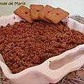 Crumble mirabelles spéculoos