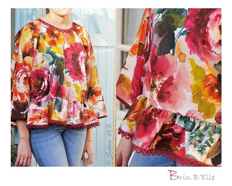 Blouse fleurs blog 1