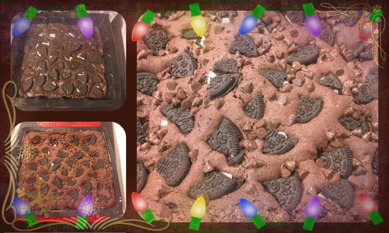 brownies aux oréos