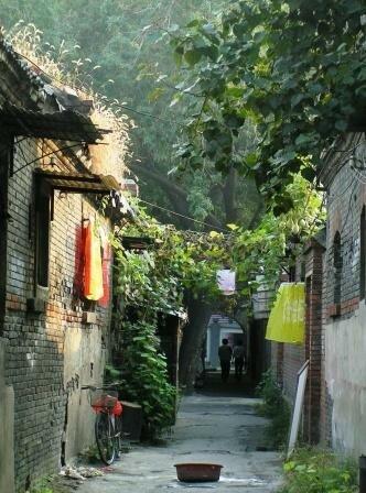 Tianjin hutong