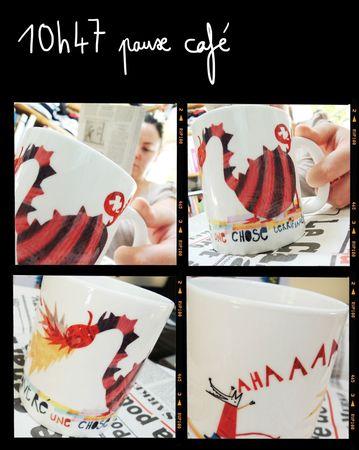 pause café mug