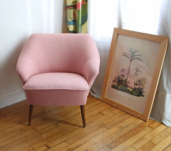 fauteuil-annees-50-pink