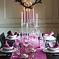 Inspirations... des tables décorées pour noël
