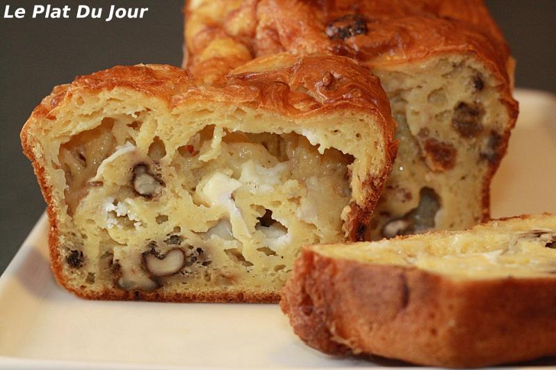 Cake Chevre Noix Oignons