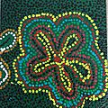 Peinture aborigène Marilou