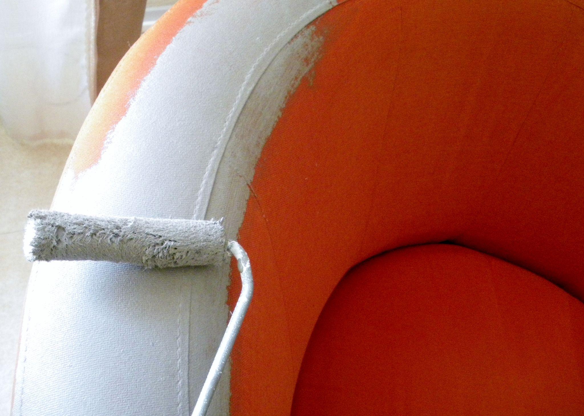 peindre canap tissu intrieur dco