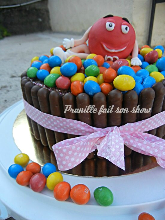 M&m's cake prunillefee