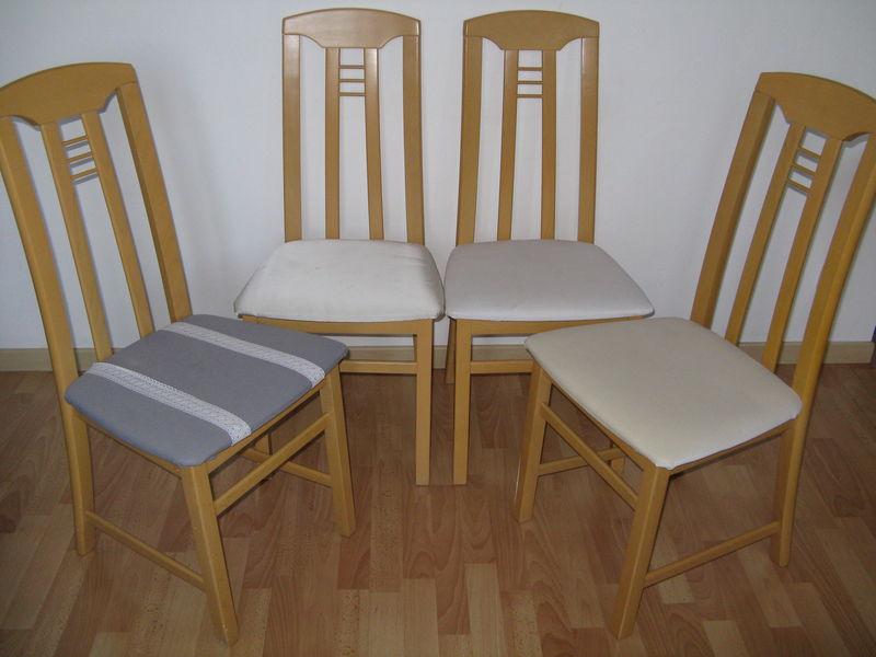 Changer une assise de chaise le show des chats mallow - Recouvrir une assise de chaise ...