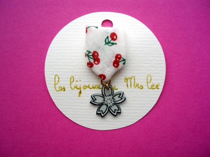 broche fleur de cerisier