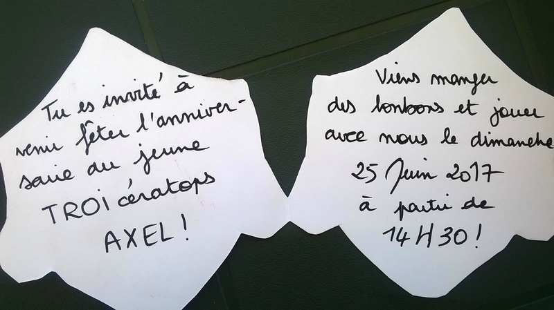 Cartons d'invitation (6)