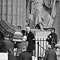 Obsèques de michel delpech, à l'église saint sulpice