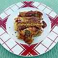 Cuisine des restes : cannelloni boeuf/carottes