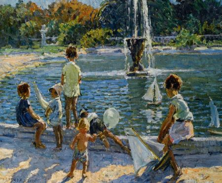 Sharp_Dorothea_The_Playground_Oil_on_Canvas-large
