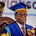 Zimbabwe : robert gabriel mugabe parle aux zimbabwéens
