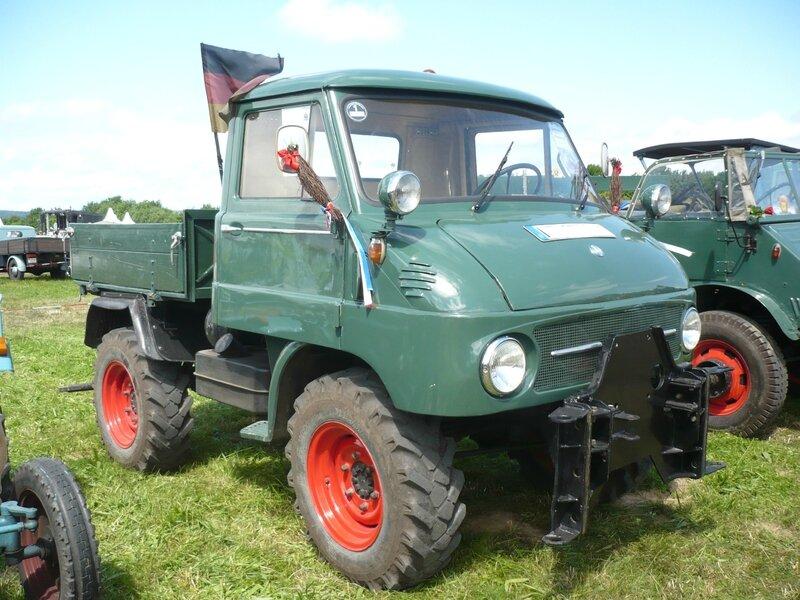 UNIMOG type 411 1964 Eutingen (1)