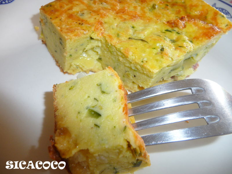 Recettes courgettes thermomix - Recette flan de courgette thermomix ...