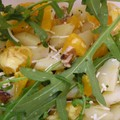 Salade de pommes de terres coloree
