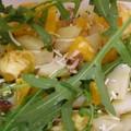 Salade de pommes de terres coloree