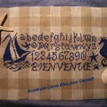 broderie citron bleu pour caroleD