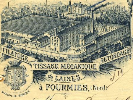 Fillature Legrand en 1890